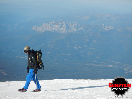 Nearing the summit of Mt. Shasta